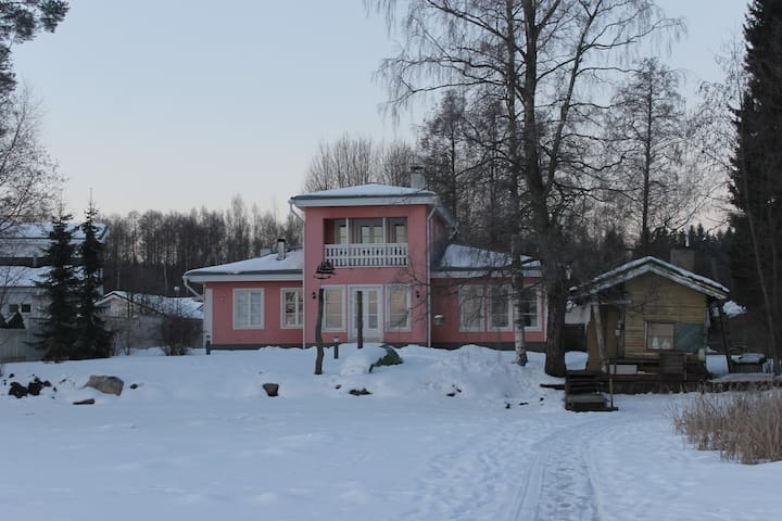 Private rooms 2-4 persons in lakeside Villa - Lahti - Haus