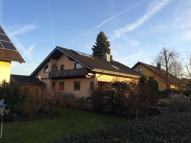 Großes Haus bei Bamberg