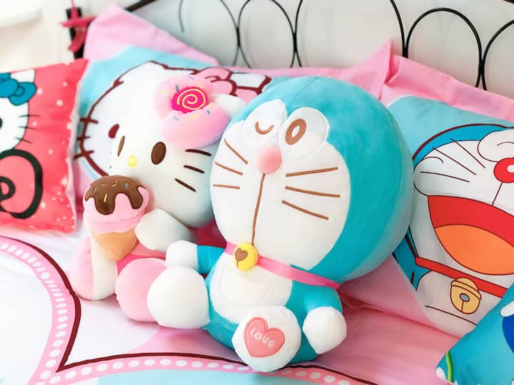 Walk 3mins to Metro HelloKitty private room 16㎡ 5P
