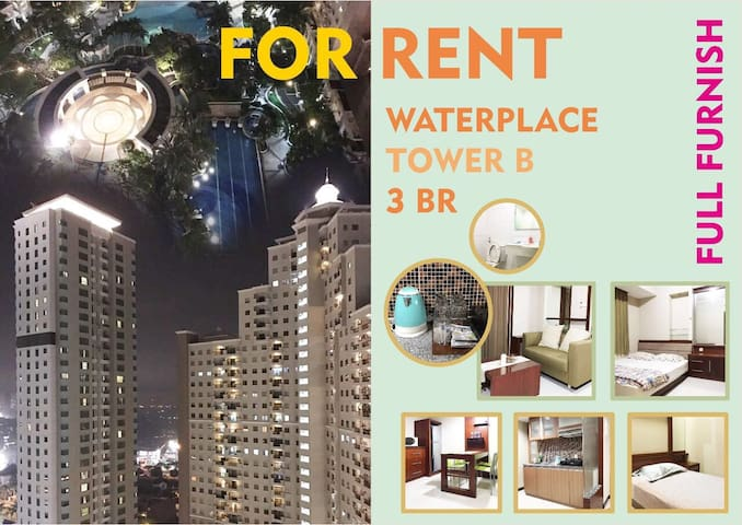 3BR FULL FURNISHED WATERPLACE - Lakarsantri - Apartment