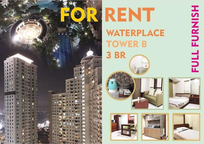 3BR FULL FURNISHED WATERPLACE - Lakarsantri - Wohnung
