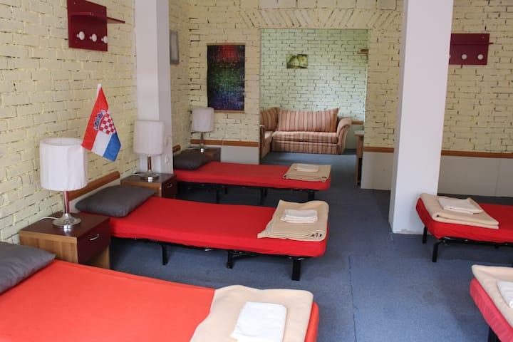 Dragan's Den 6 Bed Family Room