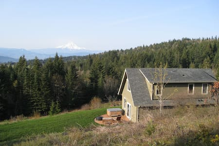 View of Mt. Hood, Private, Pet OK - Σπίτι