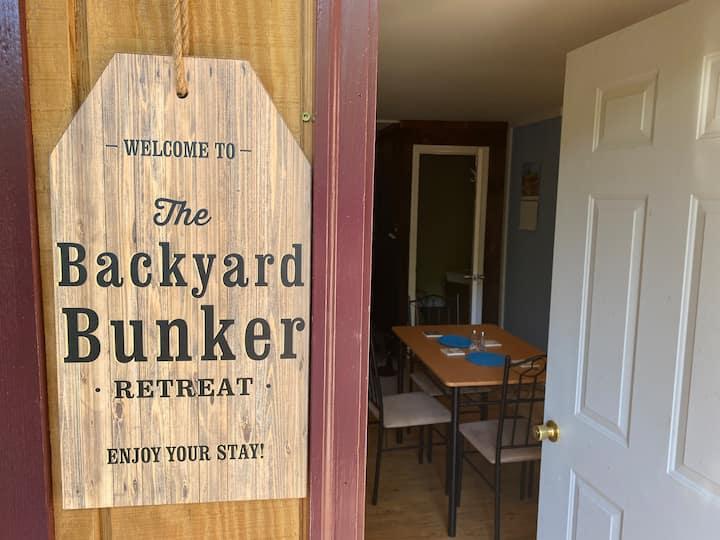 Backyard Bunker Retreat