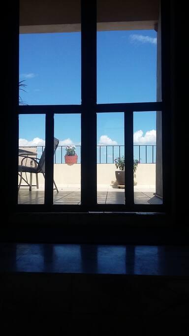 Second floor door to Balcony