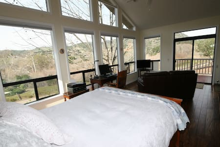 We would love to have you stay at White Owl Orchard!  You will love the feeling and ambiance of this beautiful, peaceful space. Amazing views of Avila Valley natural space.  Inside you will find gorgeous acacia wood floors with a full kitchen, quality furnishings and outdoor deck. Nearby trails to Avila beach. Close to San Luis Obispo and Avila and Pismo Beach.  Perfect romantic getaway!