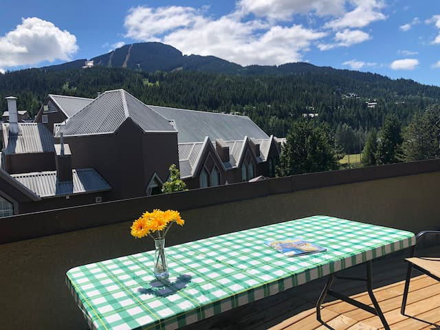 Your Roof-Top Oasis Right in the Heart of Whistler