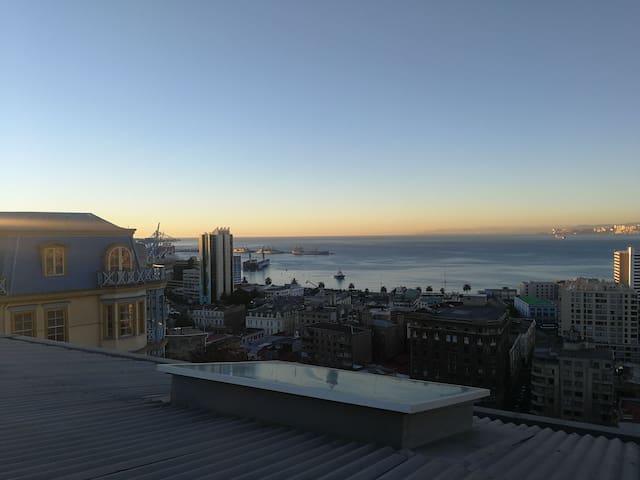 Hostal cielo abierto Valparaíso