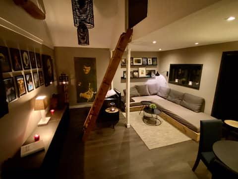Guesthouse in hartje centrum van prachtig Blaricum