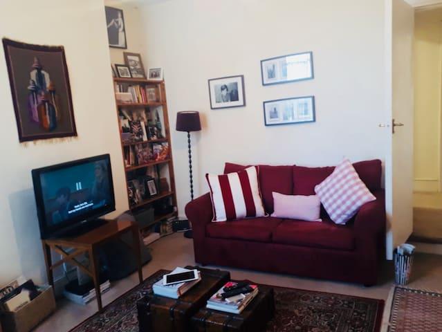Spacious double room near leafy Alexandra Park
