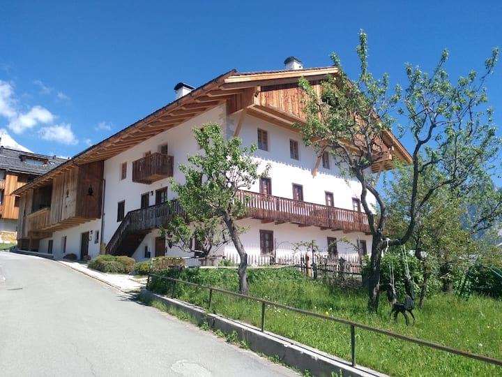 Cortina 4 pers apartmant in panoramic green area