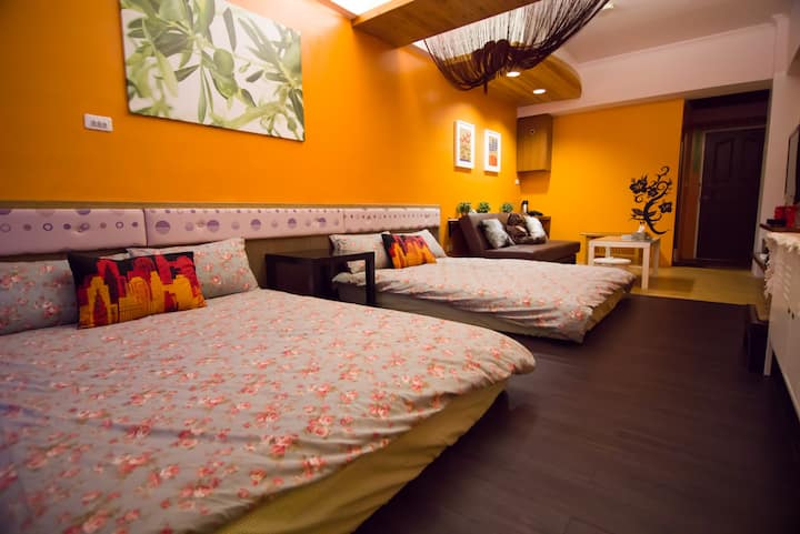 Fun Trip Kenting B&B-Two double beds(Near Nan Wan)