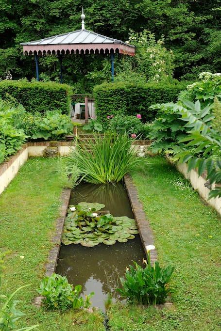 Jardin en creux