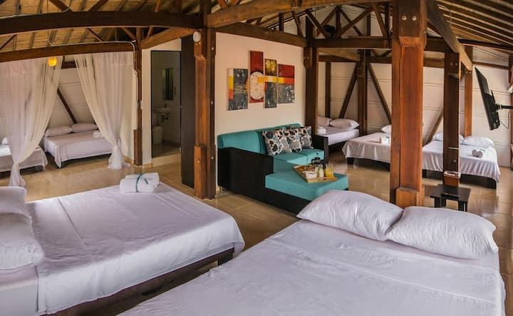 cabaña Madera Segundo piso wood Cabin 2 Floor