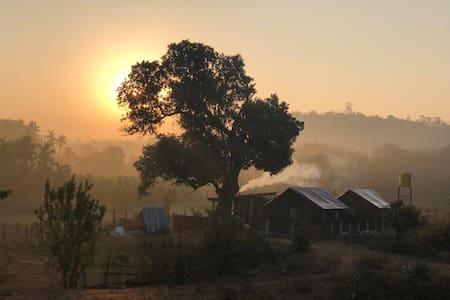 Glamping at Sthalaa Organic Farm, Agumbe
