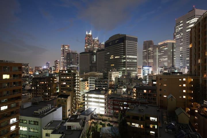 TOP FLOOR spacious shinjuku st 1min - Shibuya-ku - Flat