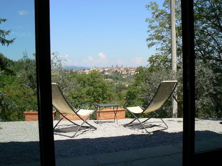 Romantic spot in Tuscany