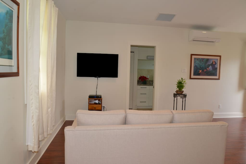 Living Area with TV (cable)