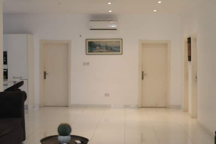 Serene apartment in cantonment