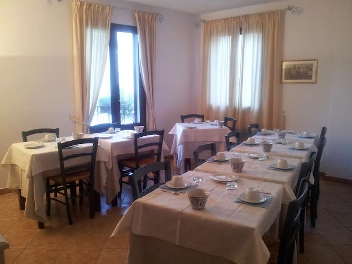 bed and breakfast a oliena