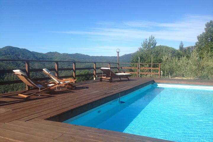 Appartamento con piscina e jacuzzi a 20km dal mare