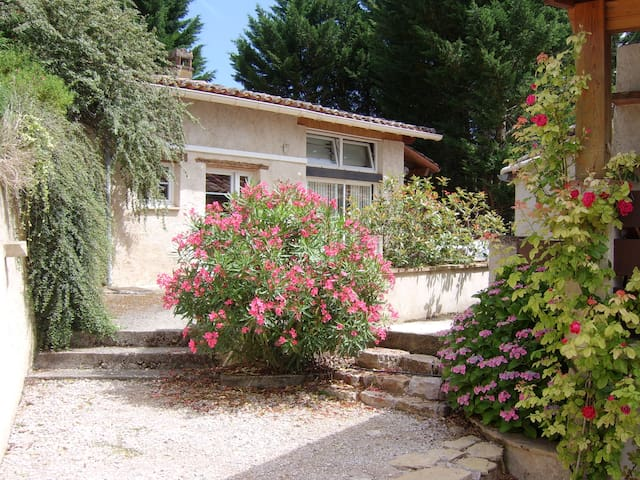 little house with 2 terraces - Cadalen - House