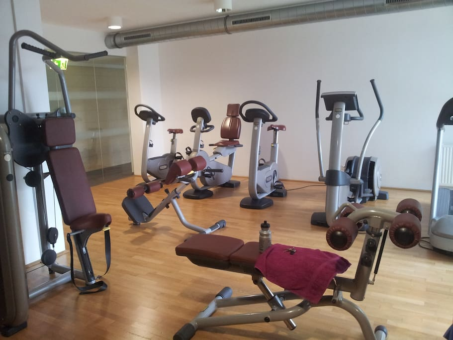 Fitness room, free to use