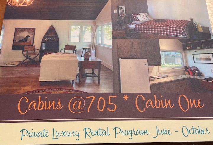 Cabins at 705
