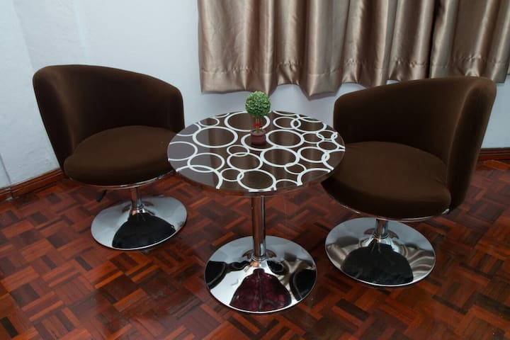 After a day of outing, coffee table is there for you to relax