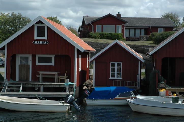 Havstenssund Seafront view of Bohuslän archipelago