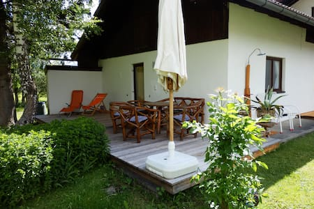 Top flat with own terrasse & garden - Leutasch