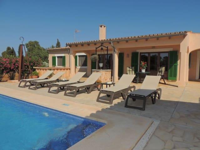 Can Pujola -Porto Petro, Mallorca - Santanyí - Huvila