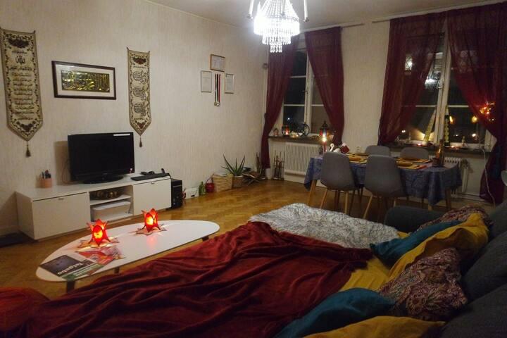 Cosy Oriental Room in Södertälje Centrum