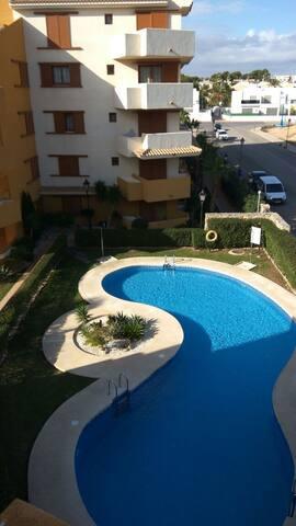Апартаменты на первой линии моря-пляж и солнце... - Torrevieja - Lägenhet