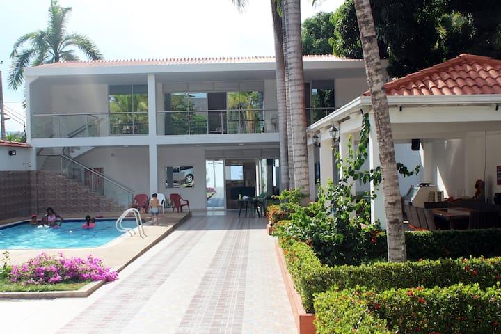 Villa Casa brava, un espacio ideal para descansar.
