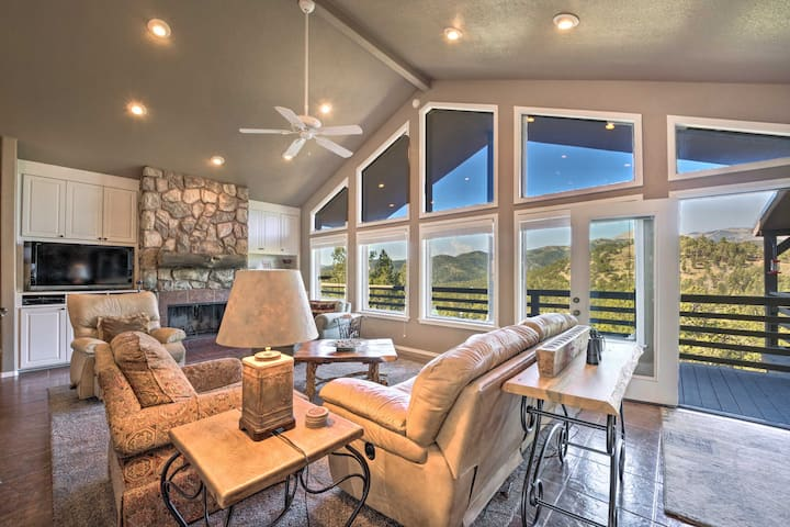 Scenic Abode w/Stunning Mtn Views+Wraparound Deck!