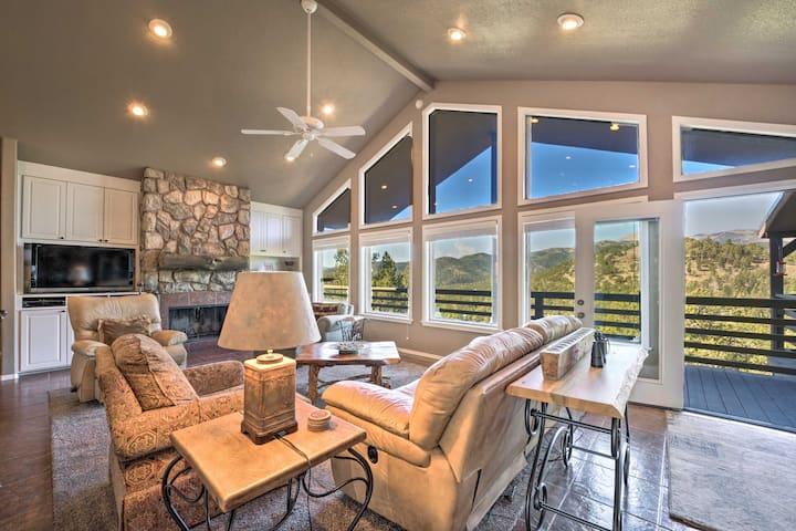 Scenic Abode w/Stunning Mtn Views+Wraparound Deck!