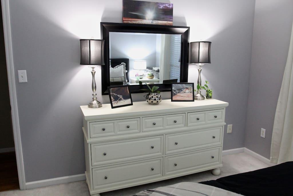 Dresser in the Bedroom
