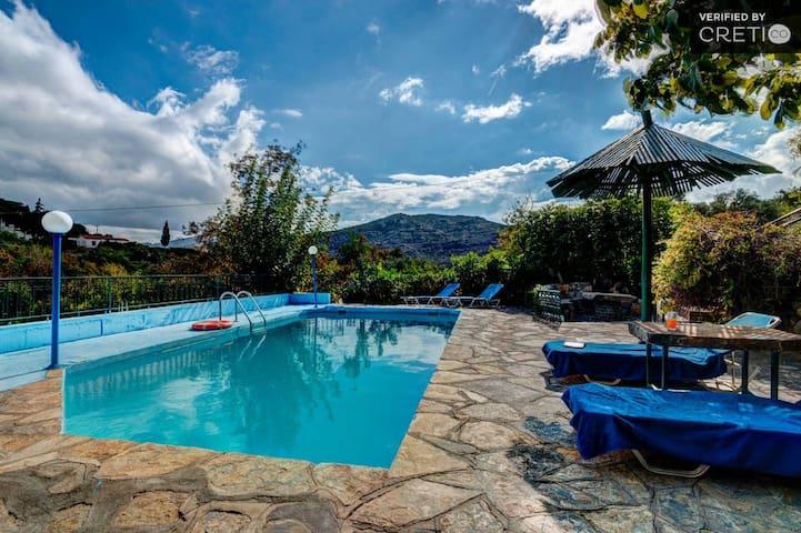 Villa Sophie, PRVT pool, Agios Nikolaos Lasithi