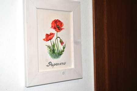 Antico Granaione BB Poppy bedroom - Bed & Breakfast