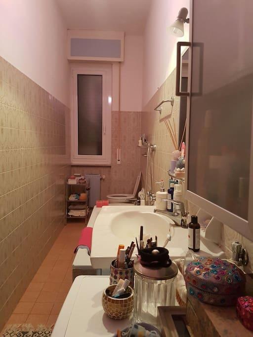Il bagno con vasca