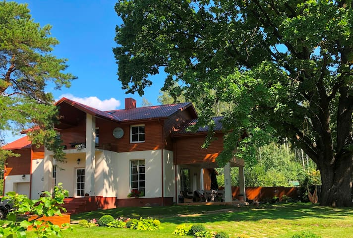 House Under Oak