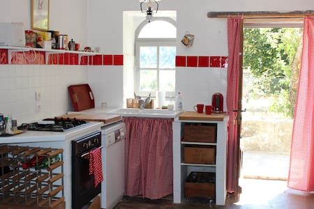 A holiday house in Provence - La Motte-Chalancon - Huis
