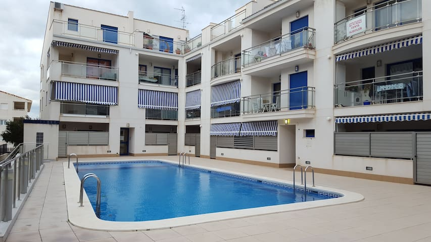 Apart. de 2 habs. a 100m de playa - Puçol - Appartement