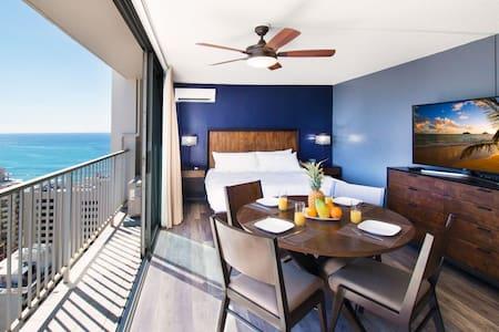 25th Fl. Ocean Views | 1 Block to Beach | WiFi