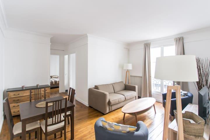 Charming apartment 4p Trocadero