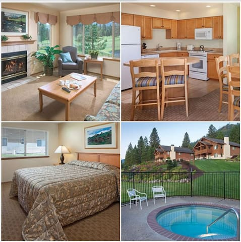 2 Bedroom Wyndham Leavenworth, WA - Leavenworth - Byt
