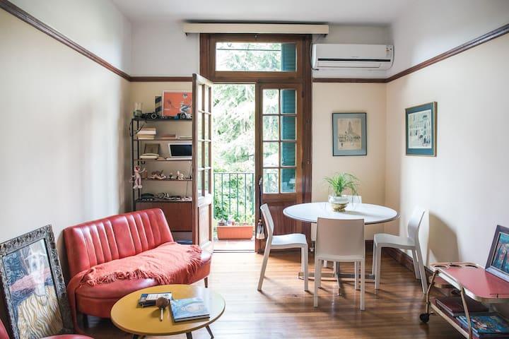 Habitación en Edificio histórico - Buenos Aires - Apartamento