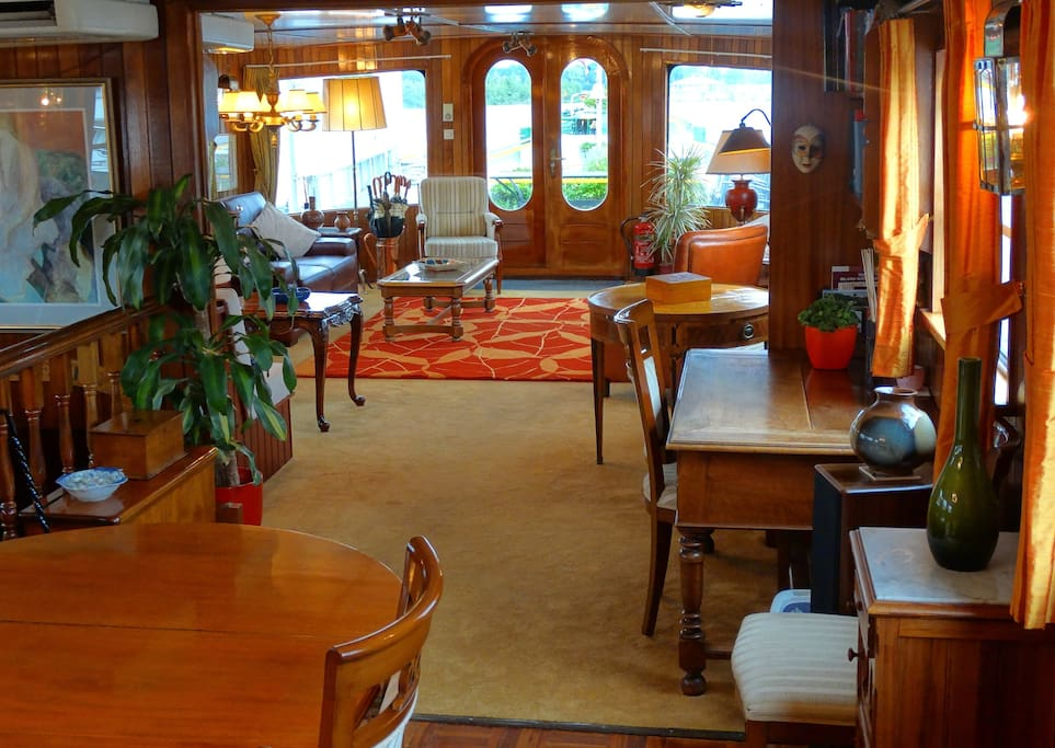 Lounge from the dining room