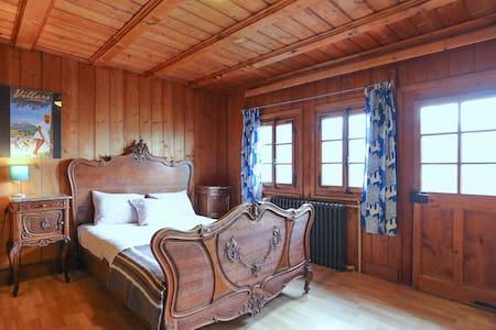 Hostel Chalet Martin Rustic room - Gryon - Lomamökki